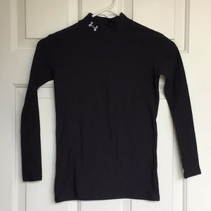 Under armor longsleeve mock neck coldweather shirt